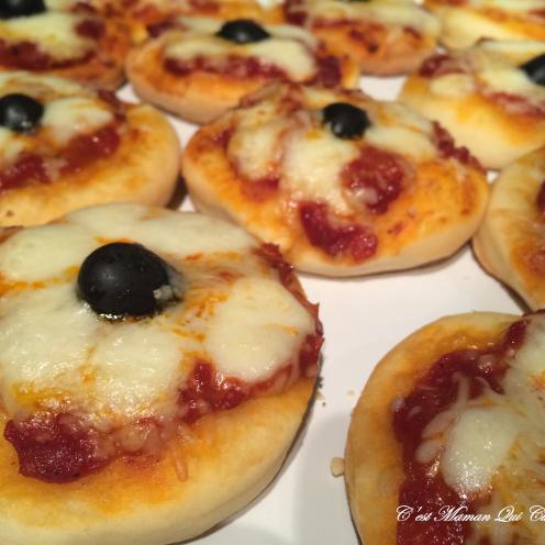 mini Pizza a la pate magique