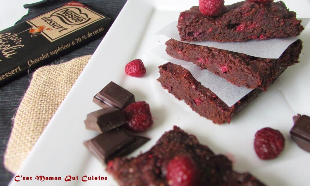 Browniechocolatframboise1